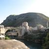 #083 モスタルで「平和の橋」を渡ってみた。  (2011.8)