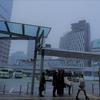★大阪に雪