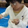 7月のアトリエレポートPART2〜牛乳パックdeブロック!!