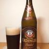 ビールを飲んだ感想23:エルディンガー ヴァイスビア ドゥンケル 白×黒なビールです