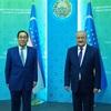 中央アジアのカザフスタンとウズべキスタンを訪問