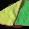 ウクレレのお掃除にマイクロファイバー雑巾(ダイソー)