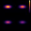 matplotlibのsubplotsで共通のカラーバーを表示する