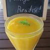 今日のジュース「Mango Paradise!」