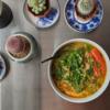 5/31(日)セブンの冷凍味噌ラーメン、豚生姜焼き定食