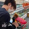 2020.11.7 宇野樹君よりNowVoiceのお知らせ 「樹(弟)に勝てないこと」 昌磨君トロちゃんとお買い物のお写真