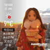 Instaweather:2019-01-01〜01-05