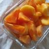 熟柿、嬉し。