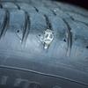 トヨタC-HR パンク修理によるサイドウォールの膨らみは大丈夫らしい