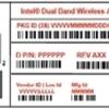 intel Wireless-AC 9560NGW リビジョン変更のご案内 0B→0D