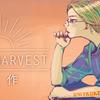 豊作か不作かを振り返るブログ用無料イラストバナーを描いた