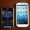 携帯電話を買い換えました(BlackBerryBold→Galaxy S III)
