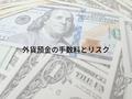 外貨預金の手数料と3つのリスク