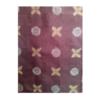 着物生地(418)抽象模様織り出し村山大島紬