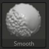 Zbrushのスムーズブラシの裏技(SHIFTを離したスムーズブラシ)