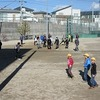 大放課&昼放課 運動場で遊ぶ!