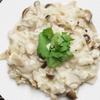 炊いたご飯で作る簡単キノコリゾットのレシピ