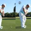 2種類のゴルフスイング