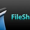 ファイルをメニューバーからアップロードできる FileShuttle