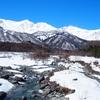 スキー場帰りに北アルプスの絶景を撮影、お勧めポイント「白馬大橋」
