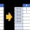 【Google スプレッドシート】日付とカテゴリー別の二軸でカウント