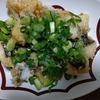 釣魚レシピ① 寒グレと九条ねぎの油淋鶏ソース添え