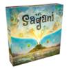 【ニュース】サガニ(Sagani)日本語版もリリース決定。ちょっと気になってたタイル配置なアブストラクト。スピリットアイランドも各所で予約開始ですよ。