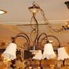 限定輸入の新作イタリア製シャンデリア&テーブルランプ