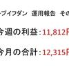 2019年1月第3周目(1/14~1/18)の運用利益報告 第31回【ループイフダン不労所得の実績】
