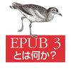 【告知】「EPUB 3とは何か?」刊行のお知らせ
