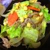もりもり彩り野菜と豚肉のあっさり旨旨炒め