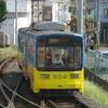 鉄道の日常風景149…過去20110815阪堺電鉄住吉公園駅(現在廃止)