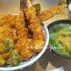*【美味しいもの記録】一人ランチに、東京駅近く日本橋の天丼屋さんへ行きました。*