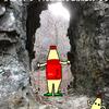 手彫りトンネルを越えて氷瀑めぐり(トヤ山)