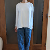 春は純白の綿Tシャツでリニューアル!ドゥクラッセTシャツの新作は大人の品格とトレンドが絶妙