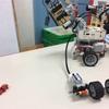電探(ソナー)の取り付け終了。これでセンサー試験機ひえい一応完成