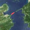 Hoyo Strait Satellite