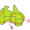 【オーストラリア】【ラウンドトリップ2020】【準備編】どこ行く?何する?~私たちついにオーストラリア1周の旅に出かけます!!