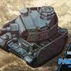 モンモデル ワールドウォートゥーンズシリーズ ドイツ3号戦車 レビュー と 戦車プラモ素人の悩みどころ