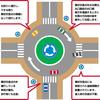 信号ない環状交差点、導入で人身事故半減 通行ルールは