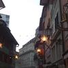 チューリッヒ DAY1*チューリッヒの街散策 (中央駅南側約2キロ以内)