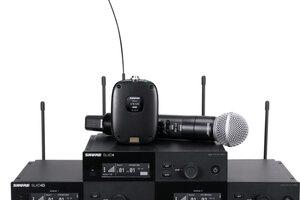 SHUREがデジタル・ワイアレス・システムSLX-Dを発表