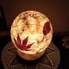 月山和紙の灯り、完成!