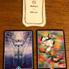 今週のカードは「受容」アドバイスカードは「瞬間から瞬間」アロハウハネカードは「感謝の法則」でした
