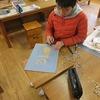 6年生:図工 刷り始め
