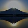 静岡県朝霧高原でダブルダイヤモンド富士が!条件が厳しい上に年に2回しか観測出来ないレアな現象!!