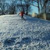 関東地方ですが雪が降り、楽しく登園できました。
