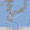 台風5号 月曜から火曜にかけて関西に最も接近