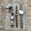 30歳ミニマリスト女子の腕時計事情。仕事もプライベートも、全4本を使い回す。