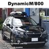 THULE DynamicM(800) x Subaru OutBack 取り付け事例